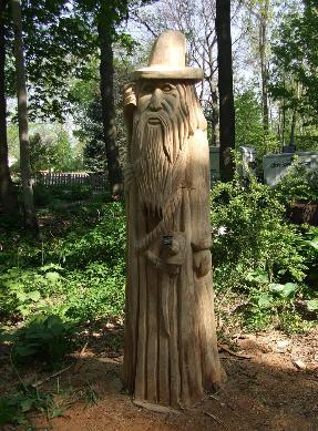 Wizard chainsaw caving Lansing Michigan